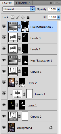 Photoshop layer stack screen shot